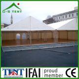 barracas desobstruídas da casa do abrigo do evento da exposição da extensão de 15m