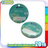 Tag Epoxy do programa RFID Ntag216 NFC de NDEF
