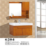 Wall Mounted all'ingrosso Wood Bathroom Vanity con Side Cabinet