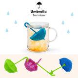 Tamis non-toxique respectueux de l'environnement du thé Infuser/Tea de silicone de forme de parapluie