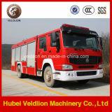 camion dei vigili del fuoco di 280HP HOWO 8m3 Water