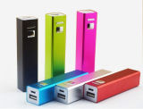 Full CapacityのシンセンSupplier Metal Square Mobile Power Charger 2200mAh