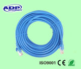 Mejor cable certificado Ce de la cuerda de corrección del precio UTP Cat5e de la alta calidad 26AWG