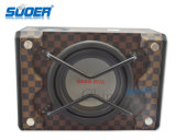 Amplifier를 가진 Suoer 8 Inch 12V Car Power Subwoofer Car Big Bass Box