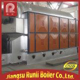 A caldeira de vapor horizontal da circulação natural da eficiência elevada com carvão despediu