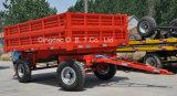 De Mechanische Aanhangwagen van het Landbouwbedrijf van de tractor met As 2