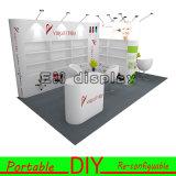 Personalizado ligero portable durable Exposición modular bricolaje cabina de estante