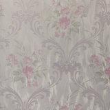 Le PVC gravé en relief fleurit le papier de mur de décoration de pièce 2016 neuf
