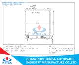 Radiador de aluminio del coche del tanque plástico para el cazo grande K10A 17700-75f20 en
