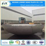 2: 1 protezione capa semi ellittica del tubo dell'acciaio inossidabile