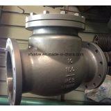 válvula de verificação do balanço de Wcb RF do aço de carbono 150lb/300lb