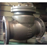 150lb/300lb Kohlenstoffstahl Wcb HF-Schwingen-Rückschlagventil
