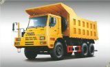 Hongyan Kingkan 6X4鉱山のダンプトラック(76Tons)