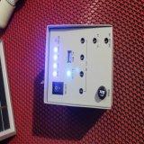 indicatore luminoso solare portatile della casa di energia di potere del comitato di 10W PV