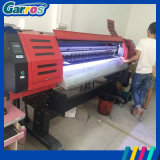 Imprimante dissolvante de traceur du jet d'encre 3D du drapeau 1800mm 6FT Eco de Garros Dx5 à vendre