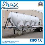 Polvo Material de transporte Semi Remolque / cemento a granel del tanque del remolque del camión