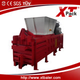 China Xtpack Semi-Automatic Horizontal Baler para Pressing Plastic Bottles
