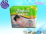 Alto pannolino a gettare delicatamente respirabile del bambino di assorbimento con la pellicola del PE