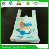 Мешок /Vest хозяйственной сумки супермаркета тенниски HDPE