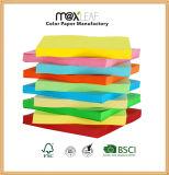 Papel colorido del color de la impresión del papel de copia con la pulpa de madera
