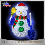 景色3D LED Christmas Acrylic Snowman Motif Light