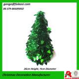 Árbol del regalo de la decoración de la Navidad de la guirnalda del oropel