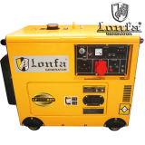 pequeños generadores diesel silenciosos trifásicos de 5kw 6kVA