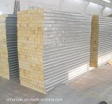 Изолированные пожаробезопасные панели стены сандвича панели Rockwool
