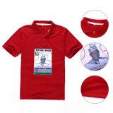 T-shirt créateur de coton de modèle frais de chemise (HY06)