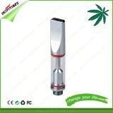 Cartucho vacío del vaporizador de la cuerda de rosca de cristal del petróleo 510 de los surtidores de China
