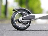 Scooter électrique du scooter E de la fibre de carbone à la mode la plus neuve