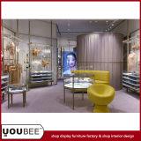 Дизайн интерьера магазина женское бельё способа с шикарными стеллажами для выставки товаров для бюстгальтеров от фабрики