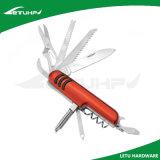 Нож инструмента металла Multi карманный с отверткой