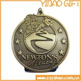 사건 (YB-C-032)를 위한 주문 고대 청동색 금속 군 메달