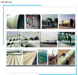 FRP/GRP/Fiberglass/Polyester/Composite Process Pipe con Dn15mm-Dn4000mm