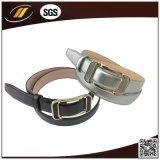 Correia de couro personalizada do couro da alta qualidade com curvatura do ouro
