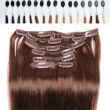 """18 """" 70g Clip en Human Hair Extensions para el afroamericano"""