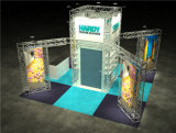 Cabina de aluminio del braguero de la exposición de la cabina de la feria profesional de la cabina del braguero