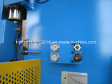 Máquina de dobra hidráulica da placa Wc67y-300X4000 de aço