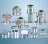 投資鋳造のステンレス鋼の通された管付属品