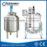 Misturador de mistura do agitador da solução do açúcar do misturador da máquina de mistura do petróleo do tanque da emulsificação da camisa de aço inoxidável do Pl