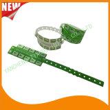 Tabulator-VinylplastikWristbands Identifikation-Armband der Unterhaltungs-10 (E6070-10-4)