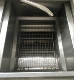 Frigideira aberta da galinha da eficiência elevada com o painel de controle do computador