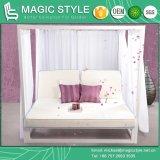 Dubbel-Bed van Daybed van de Luxe Daybed van Daybed van de Tuin van Daybed van het Aluminium van het ijs het Openlucht (MAGISCHE STIJL)