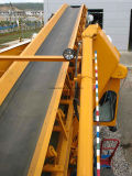 Rubber Transportband met Cleat en Rok voor Jakobsladder