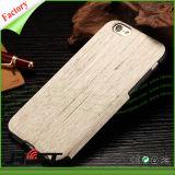 Caixas flexíveis do telefone móvel da grão de madeira TPU para o iPhone 6s