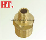 Pipe Brass montaje NPT Male Pipe Hex Nipple (MIP X MIP)