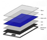 60W Powerful PV Cell High Efficiency Monocrystalline Solar Panel
