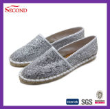 Chaussures métalliques de Sholes d'espadrilles de femmes