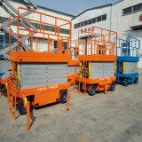 Plate-forme hydraulique mobile de levage de ciseaux de table élévatrice